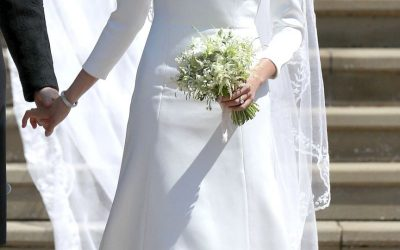 Winter wedding dress inspo: Meghan Markle's wedding dress