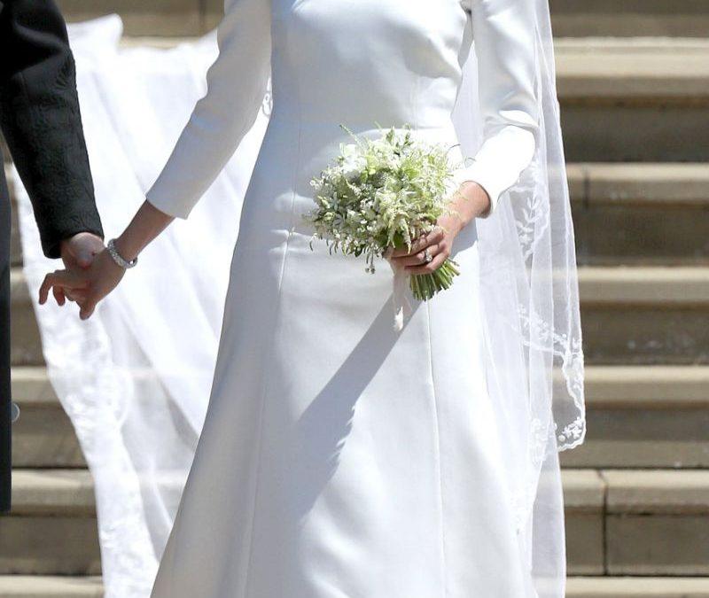 Winter wedding dress inspo: Meghan Markle's wedding dress