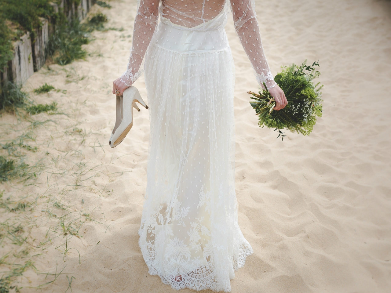 Boho Wedding Dress Inspo