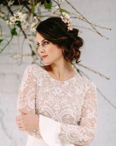 sleeve trends for autumn wedding dresses