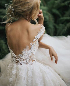 best wedding dress styles for outdoor weddings